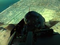 """סימולטור טיסה f-16 , צה""""ל / צילום: אורי סקופ"""