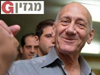 אהוד אולמרט / צילום: תמר מצפי