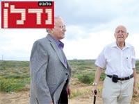 בנימין פישר ועזרא יחזקאל/ צילום: תמר מצפי