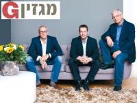 דדי פרלמוטר רמי הדר ואלדד תמיר / צילום:ענבל מרמרי