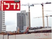 בנייה בראש העין / צילום: יוסי כהן