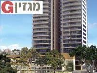 הדמיית פרויקט היוקרה מגדלי אסותא בתל אביב / הדמיה: ויו פוינט