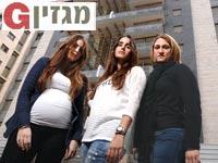 חן אבנעים ענבל שמואל ומורן אסייג / צילום: איל יצהר