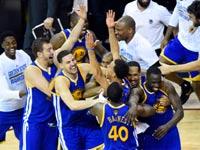 גולדן סטייט חוגגת זכייה באליפות ה-NBA / צלם: רויטרס