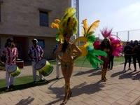 רקדניות בלבוש חושפני ביום ספורט במכללה הלאומית לשוטרים בבית שמש / צילום: יחצ