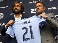 אנדראה פירלו מוצג בניו יורק סיטי FC מליגת ה-MLS / צלם: רויטרס