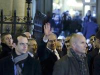 בנימין נתניהו - עצרת זיכרון בעקבות הפיגועים בפריז / צילום:רויטרס