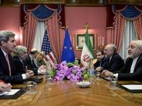 שיחות הגרעין - ג'ון קרי מוחמד זריף / צילום: רויטרס