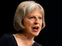 תרזה מאי שרת החוץ של בריטניה / צילום: רויטרס