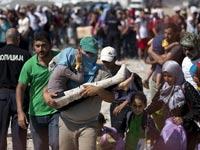פליטים מסוריה / צילום: רויטרס