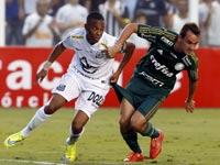רוביניו, סנטוס מול פלמיירס, כדורגל ברזילאי / צלם: רויטרס