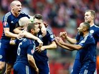 נבחרת סקוטלנד בכדורגל / צלם: רויטרס