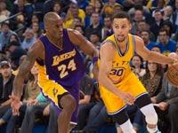 סטפן קרי מול קובי בראיינט, גולדן סטייט ווריורס נגד לוס אנג'לס לייקרס, NBA / צלם: רויטרס