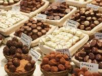 ברצלונה- לה בוקריה- דוכן שוקולד/ צילום: שאטרסוק
