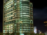 בניין מבני גזית במנחם בגין 148 תל אביב / הדמיה: רפי לרמן אדריכלים