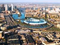 הדמיית מחשב של האצטדיון האולימפי בבוסטון 2024 / צילום: רויטרס