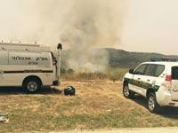 שריפה בירושלים / צילום: מתוך הטוויטר של משטרת ישראל