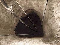 """מנהרה שהתגלתה בעזה / צילום: דובר צה""""ל"""