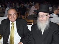 יעקב ליצמן ופרופ' זאב רוטשטיין / צילום: יוסי כהן