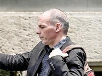 שר האוצר היווני יאניס ורופאקיס / צילום: רויטרס