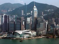 המרכז הפיננסי של הונג קונג / צילום: רויטרס
