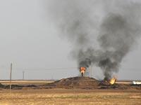 שדה נפט בעיראק שנתפס על ידי לוחמים כורדים / צילום: רויטרס