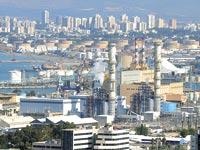 אתר חברת חשמל בחיפה / צילום: איל יצהר