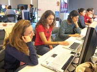 "משתתפות בסדנה Rails Girls / צילום: יח""צ"