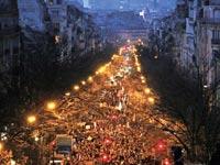 עצרת ההזדהות עם נפגעי הטרור בפריז / צילום: רויטרס