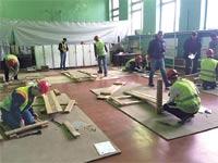 המיונים לעובדי הבניין במולדובה / צילום: משרד האוצר