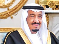 המלך סלמן בין עבדולעזיז אל–סעיד / צילום: רויטרס