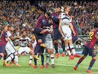 ביירן מינכן נגד ברצלונה/ צילוםי:רויטרס