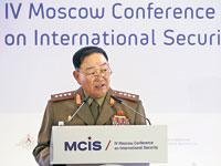 היון יונג צ'ול, שר ההגנה הצפון קוריאני / צילום: רויטרס