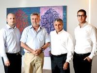 לירון כהן, שמוליק חמו, אמיר חן וניצן פלדמן / צילום: איל יצהר