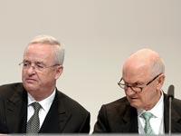 "היו""ר פרדיננד פייך והמנכ""ל מרטין וינטרקורן  / צילום: רויטרס"
