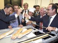 נשיא צרפת הולנד וראש ממשלת איטליה רנצי / צילום: רויטרס
