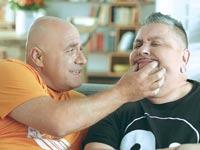ארכדי דוכין ודביר בנדק / צילום: יחצ