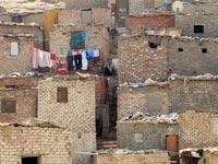 מגורים לא פורמליים בקהיר /  צילום: רויטרס