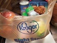 שקית קניות ברשת קרוגר / צילום:בלומברג