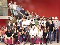 משתתפי האקסלרטור European Pioneers / צילום: אמיר מאיר