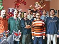 """הצוות של Level Bit הסרבית ומנכ""""ל TabTale שגיא שליסר / צילום: יחצ"""