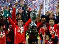 צ'ילה זוכה בקופה אמריקה 2015 / צלם: רויטרס