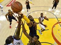 קליבלנד קאבלירס-גולדן סטייט, בגמר פלייאוף ה-NBA / צלם: רויטרס