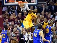 קליבלנד קאבלירס מנצחת את גולדן סטייט במשחק 3 בגמר ה-NBA / צלם: רויטרס