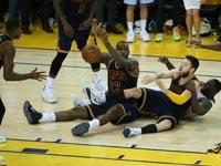 קליבלנד קאבלירס מול גולדן סטייט בסדרת גמר ה-NBA / צלם: רויטרס