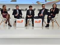 פאנל על תוכן דיגיטלי במהלך כנס DLD / צילום: כנס DLD