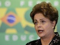 דילמה רוסף נשיאת ברזיל / צלם: רויטרס