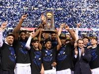 דיוק זוכה באליפות ה-NCAA ל-2015, כדורסל, קולג'ים, מכללות / צלם: רויטרס