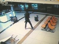 צילום פיגוע ממצלמות האבטחה / צילום מסך