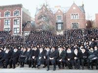 """כנס שליחים של חב""""ד / צילום: רויטרס"""